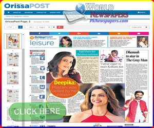 Orissa Post Newspaper
